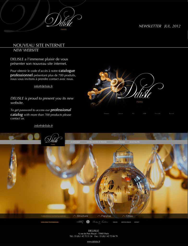 delisle nouveau site 2012