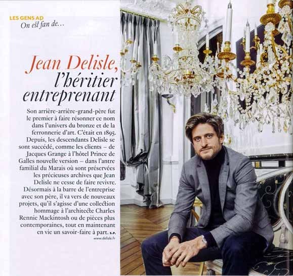 Jean Delisle, l'héritier entreprenant selon Ad magazine