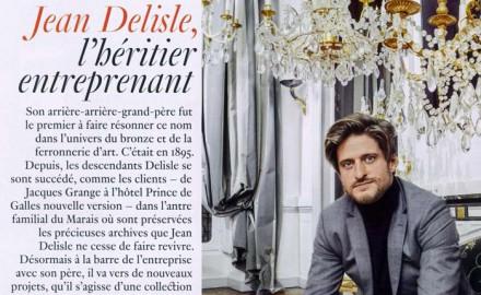 ad magazine est fan de Delisle