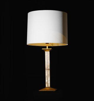Vice Versa lamp, designed by Sami Sader made of rock crystal ✨ . . . #luxuryhome #lightdesigner #paris #delisleparis #bespokelighting #interiordesign #lighting #chandelier #lustre #savoirfaire #bronze #artdesign #surmesure #viceversa #rockcrystal #samisader