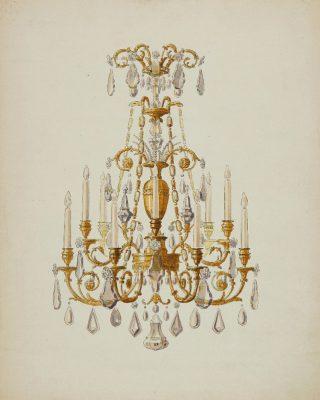 Does this drawing reminds you of something ? ✨ . . . #luxuryhome #lightdesigner #paris #delisleparis #bespokelighting #interiordesign #lighting #chandelier #lustre #savoirfaire #bronze #artdesign #surmesure #archives #drawing